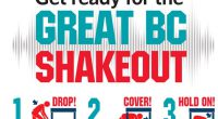 "On October 17th at 10:20 AM., millions of people worldwide will practice how to ""Drop, Cover and Hold On"" during Great Shake Out Earthquake Drills. At Burnaby Mountain Secondary School […]"